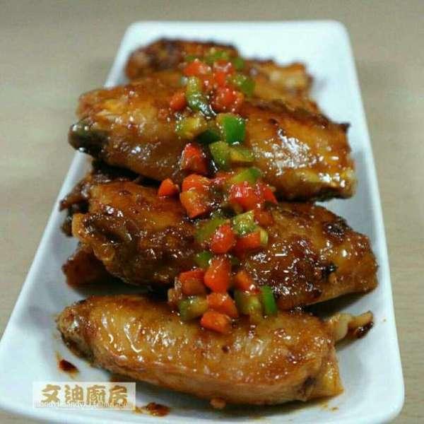 照燒醬韓式麵豉雞翼