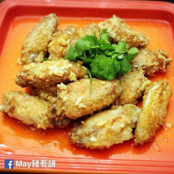 牛油蒜蓉雞翼