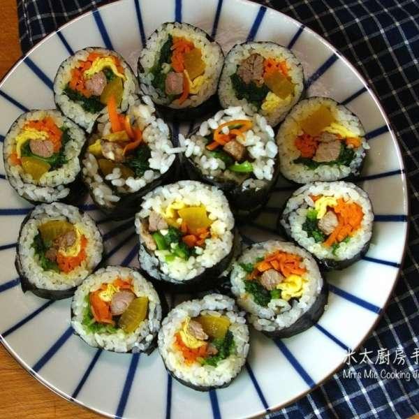 韓式紫菜飯卷(米太)