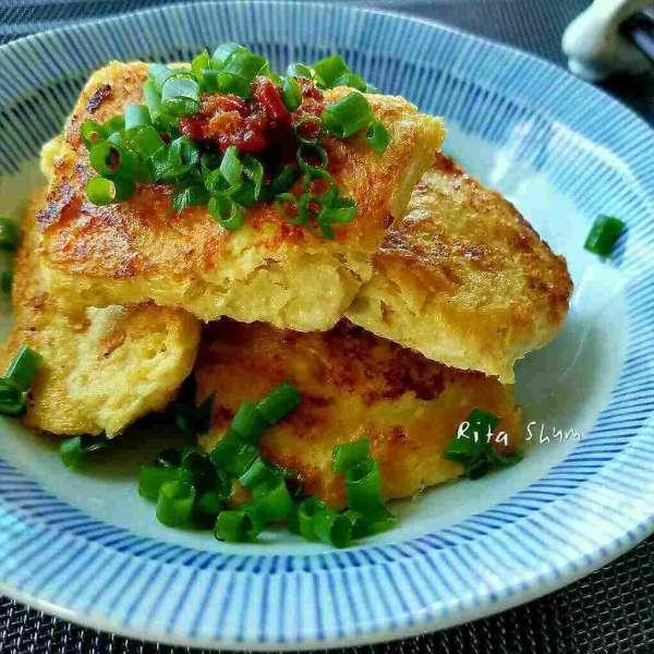 香煎凍豆腐