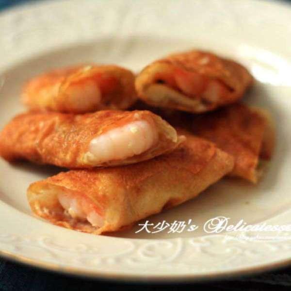 鮮蝦腐皮卷