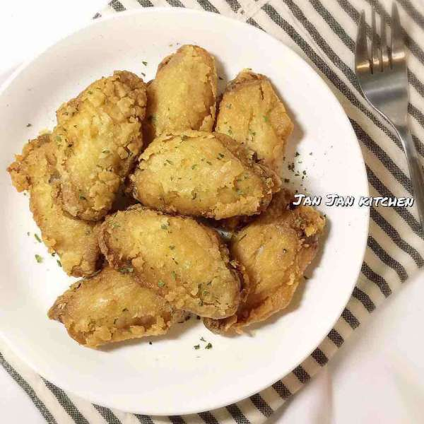 黃薑蒜味脆脆雞翼