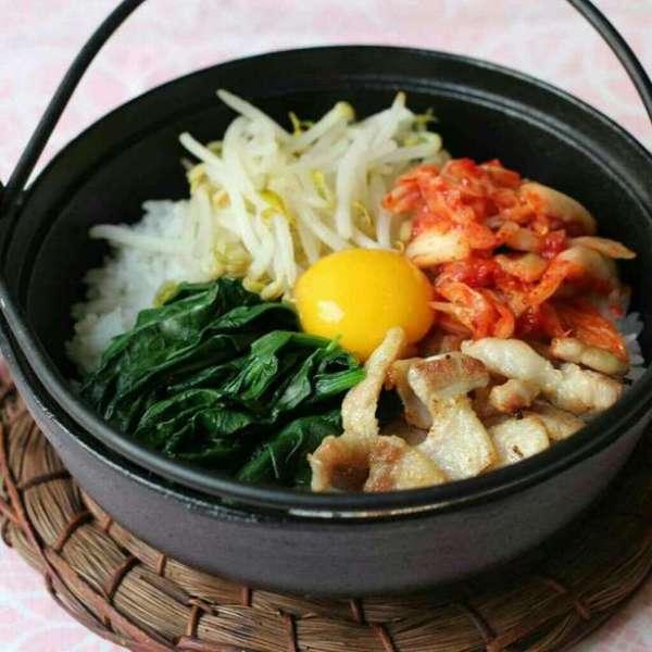 韓式小鍋拌飯