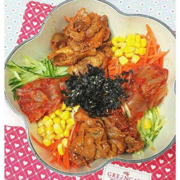 韓式紫菜拌飯