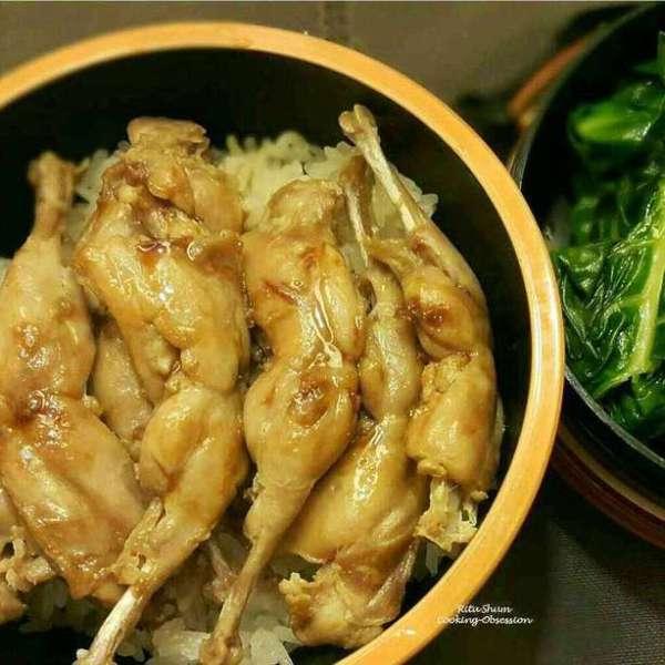 傳統鵪鶉肶焗飯