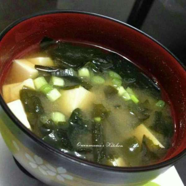 簡易日式麵豉湯