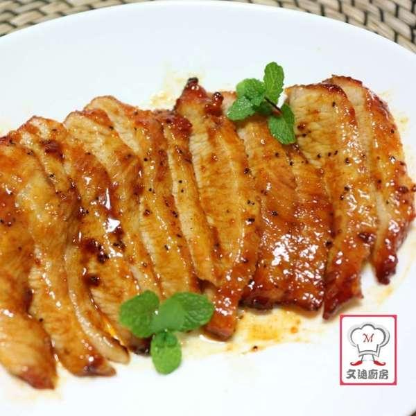 蜜糖焗韓式BBQ醬豬頸肉