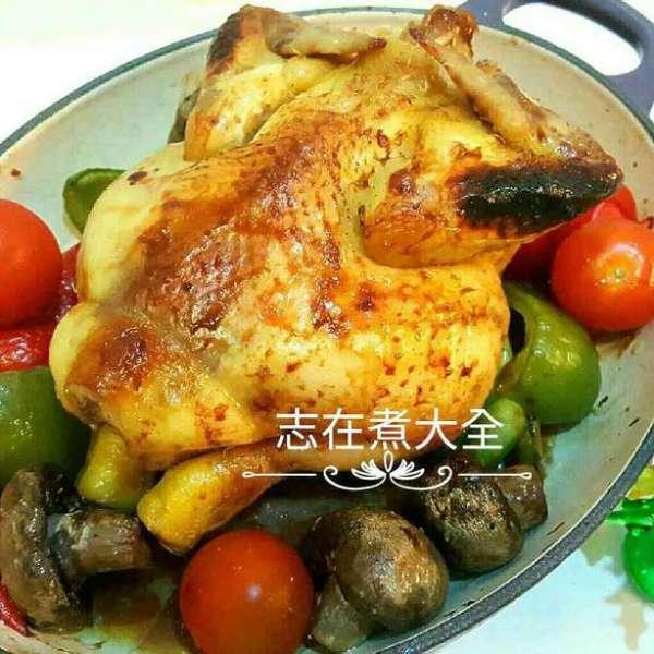 香香脆鹽麴蜜糖烤春雞