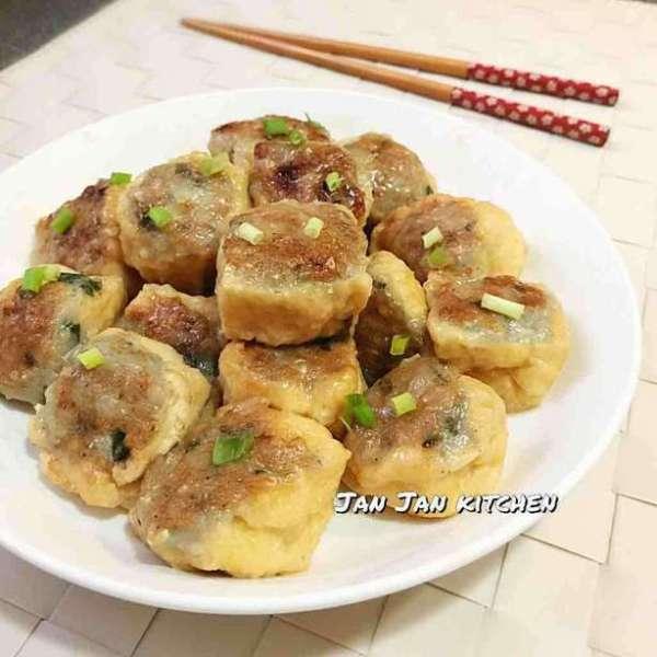 鬼馬魚肉釀豆腐卜