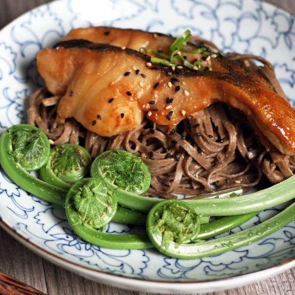 麻香味噌蕎麥麵