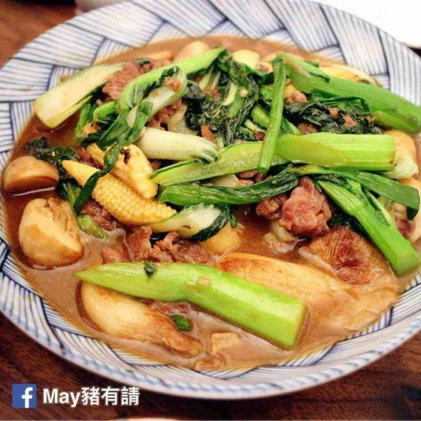 泰式蠔油什菜炒牛肉
