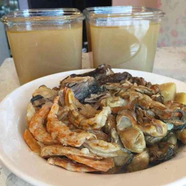 自家制超鮮甜中式海鮮高湯
