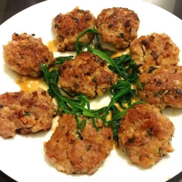 咸魚篇(一)咸魚煎肉餅
