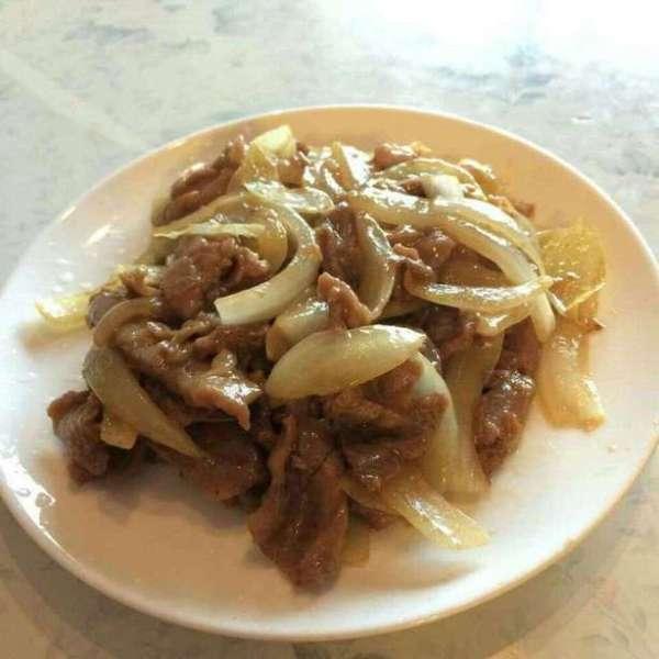 洋蔥爆炒牛肉