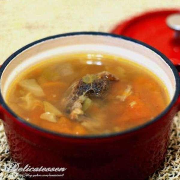 牛骨什菜湯