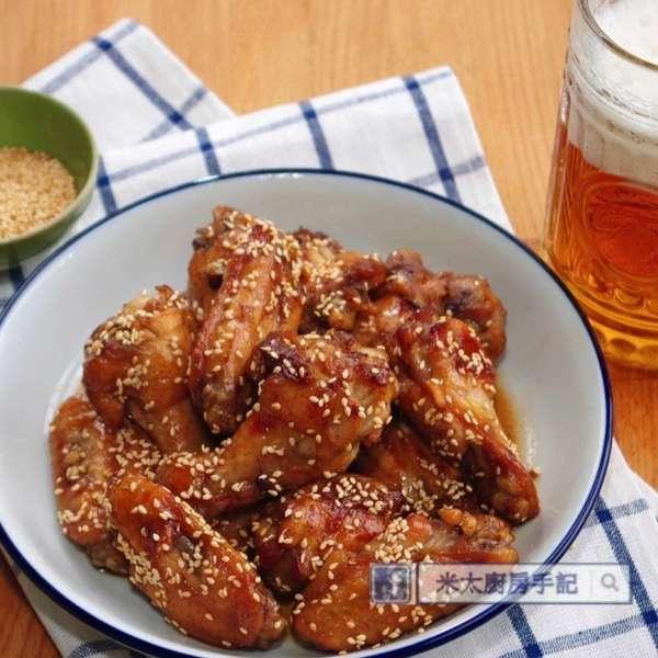 韓式甜蜜蜜雞翼