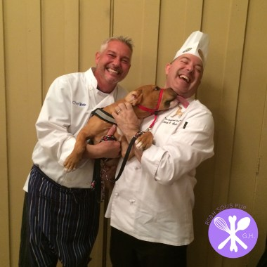 George Henry and Chef Bob supporting Greyt Plates