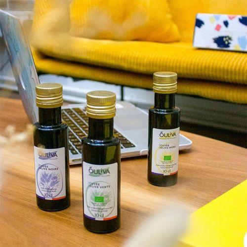 Dégustation de 3 variétés d'huiles d'olive