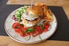 Pesce Baracca - Mercato e Cucina, Hamburger di Pesce. Foto di Giorgio Dracopulos