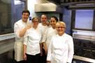 Ristorante Romano a Viareggio (LU). La Chef Franca Checchi Franceschini e la Brigata di Cucina. Foto di Giorgio Dracopulos Critico Gastronomico.