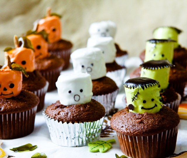How To Make Halloween Cupcakes Chefjulieyoon Com
