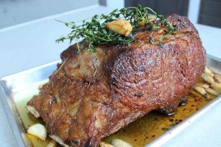 Roasted Prime Beef Rib Roast