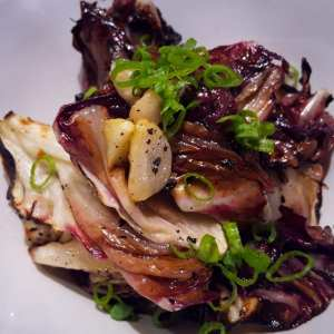 Grilled Garden Chicories with Garlic, Fish Sauce, Chilies & Scallions Hamptons Cooking