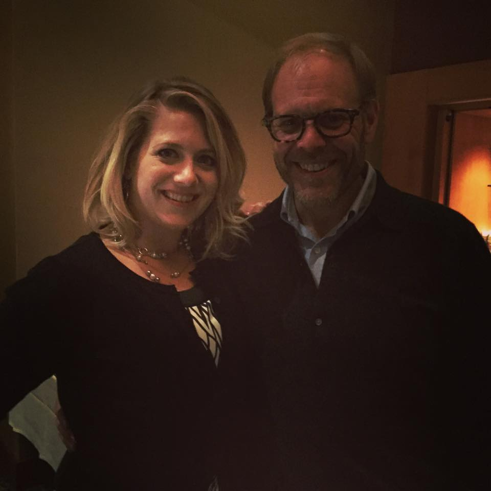 Alton Brown and Chef Kirsten Helle