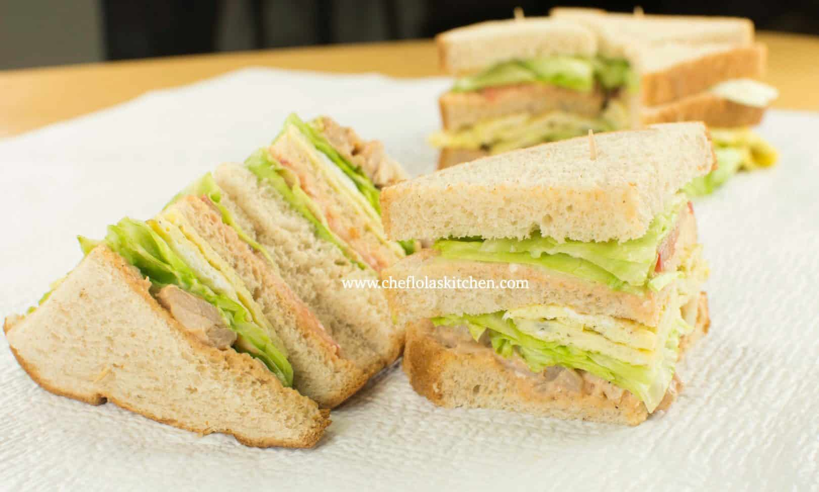 How To Make A Super Easy Club Sandwich Recipe