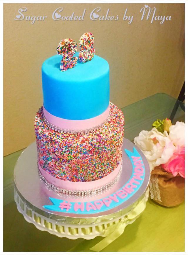 Custom Birthday Cake Chefnessbakery