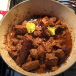 2 hours simmering