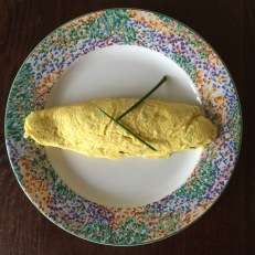 Ricotta omelet with fines herbes