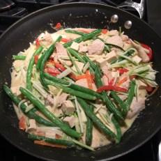 Thai green curry 1