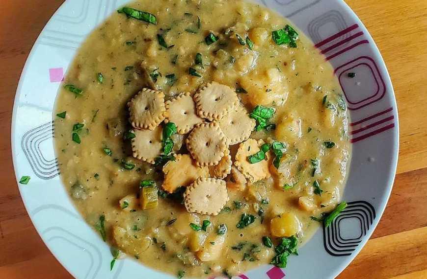 Creamy Fish & Potato Chowder
