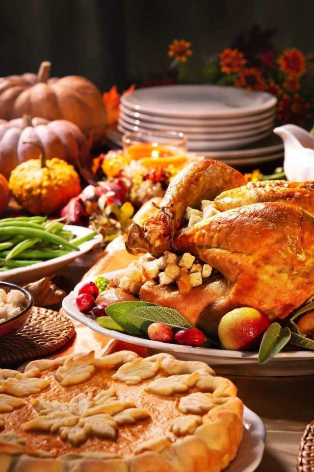Expensive Thanksgiving Dinner