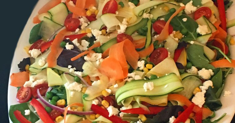 Vegetable Ribbon Salad