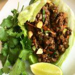 Thai Lettuce Chicken Wraps
