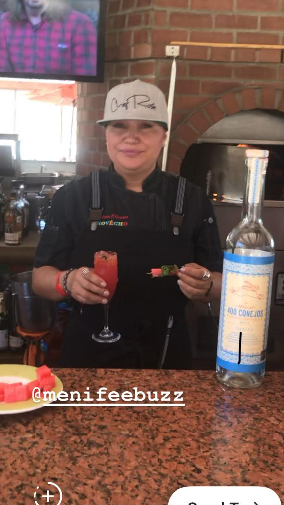 rosie cocktail, chef rosie, provecho grill, mexican inspired recipes, calimex food, calimex restaurant, latina chef