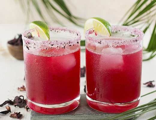 hibiscus margarita, chef rosie, provecho grill, mexican inspired recipes, calimex food, calimex restaurant, latina chef