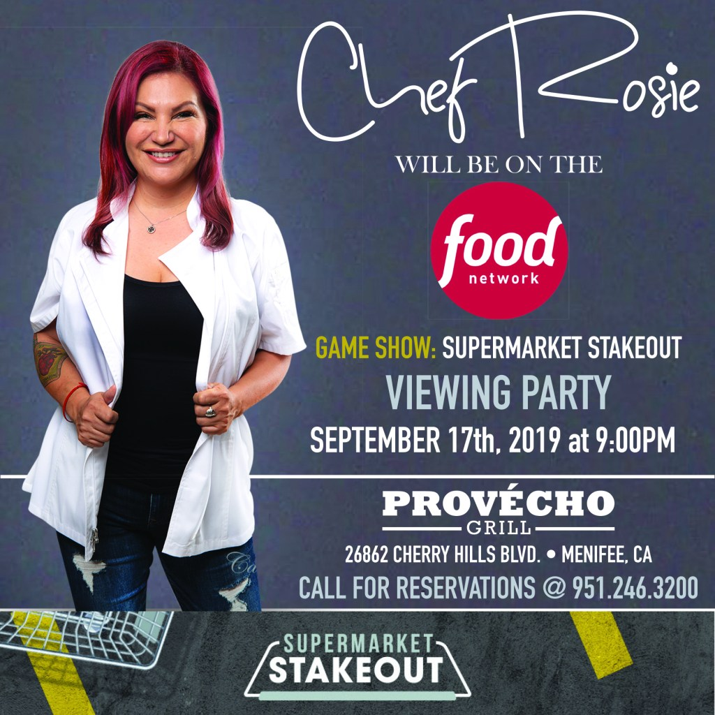 chef rosie, food network, supermarket stakeout