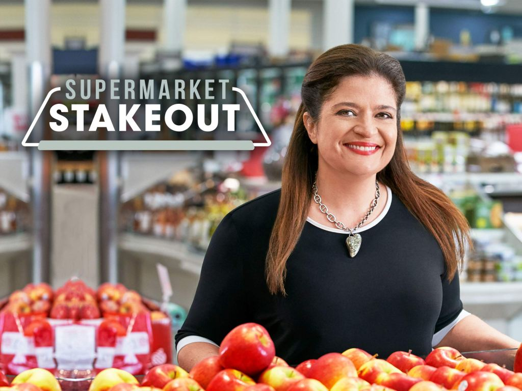chef rosie, supermarket steakout, chef alex guarnaschelli