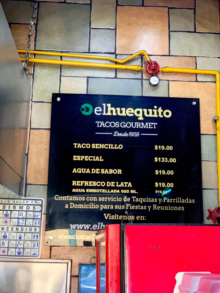 el huequito, best restaurants in mexico city, best places to eat in mexico city, chef rosie, provecho grill, mexico food tours, mexico city, ciudad mexico, d.f.