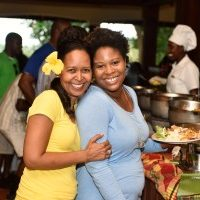 Shadel Nyack Compton (left) at Belmont Estate, Grenada © CTA