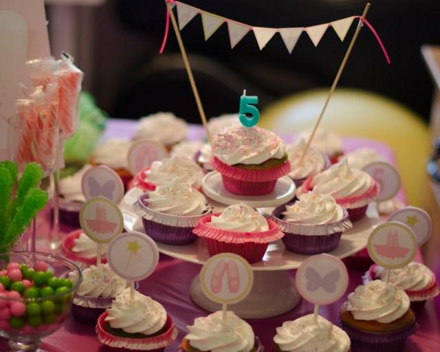 Fairy Ballerina Birthday Party from ChefSarahElizabeth.com