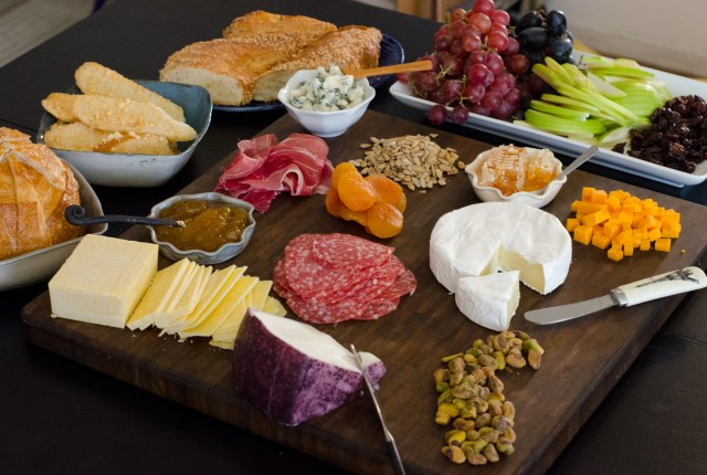 How to Curate a Cheese Plate from ChefSarahElizabeth.com