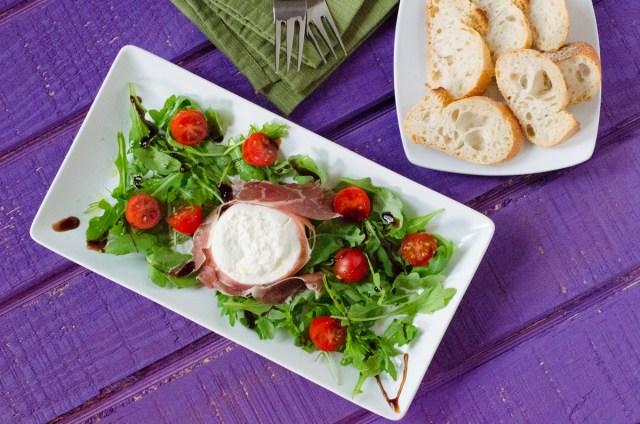 Insalata di Burrata from ChefSarahElizabeth.com