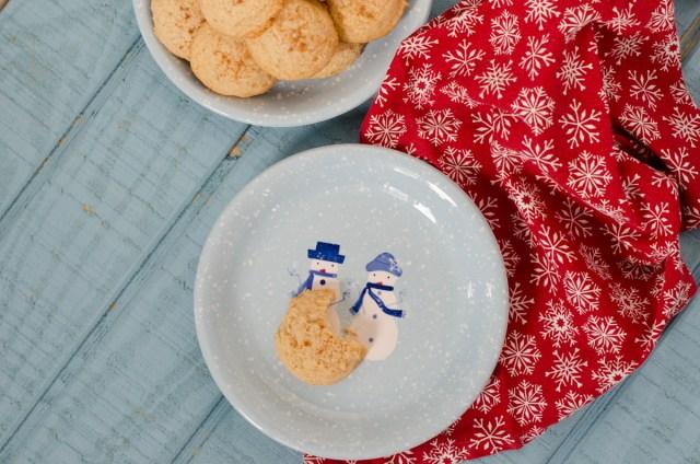 Eggnog Cookies recipe from ChefSarahElizabeth.com