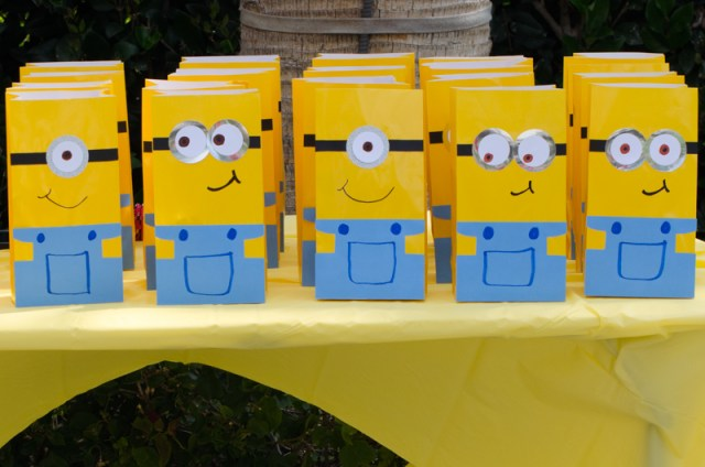 Minions party from ChefSarahElizabeth.com