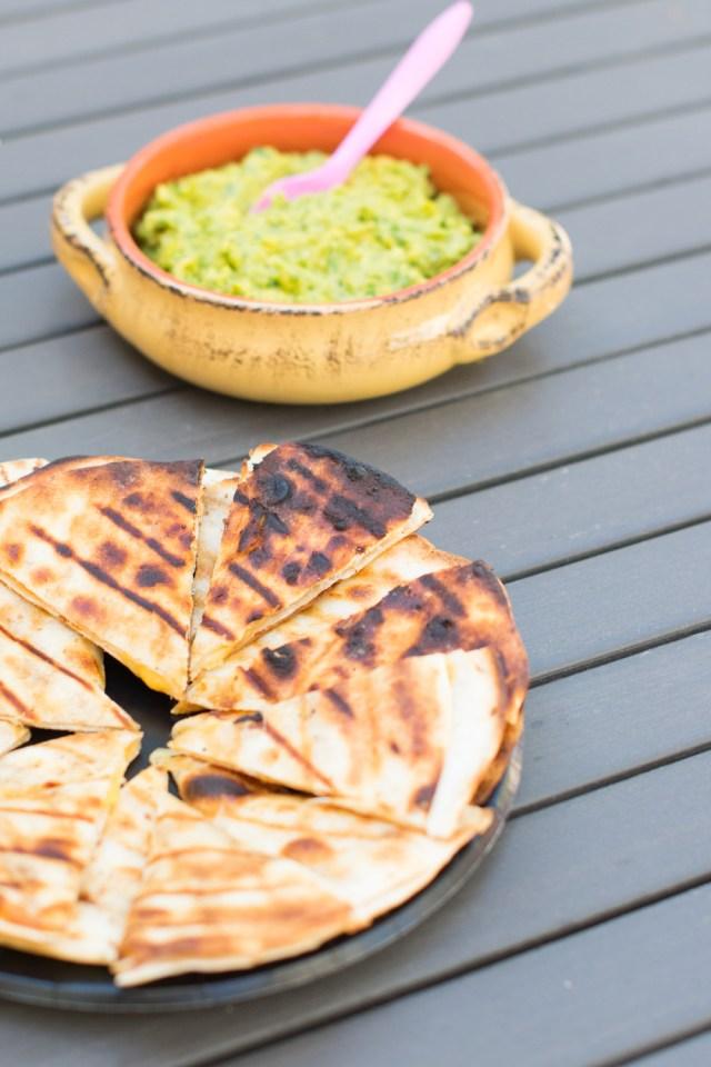 Grilled Quesadillas from ChefSarahElizabeth.com