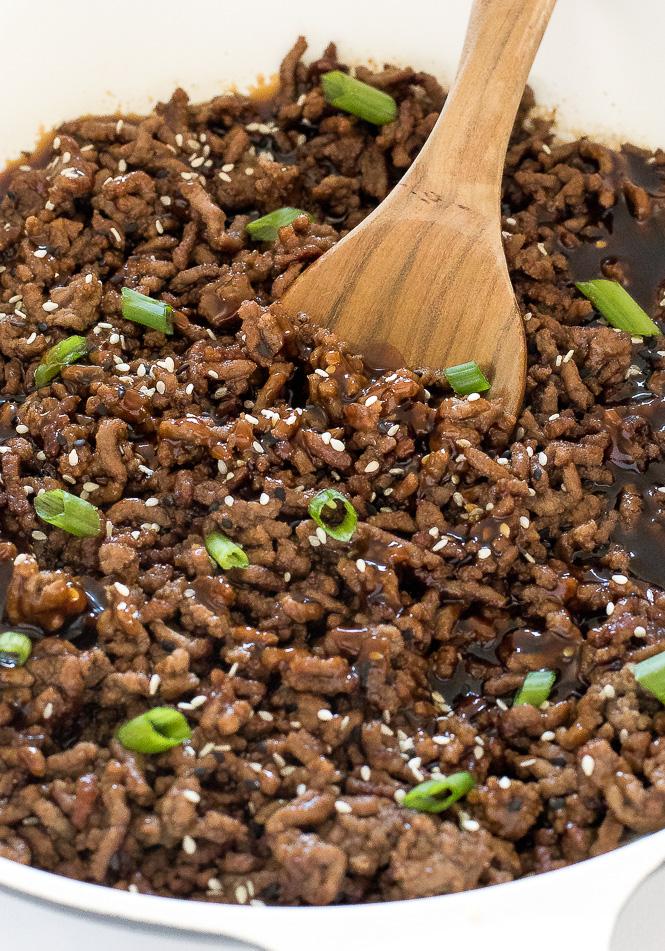 Korean Beef Rice Bowls   chefsavvy.com